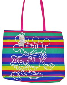 Disney Mouse Minnie Mouse Canvas Parks Tote in Multi Color