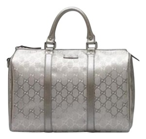 Gucci Satchel in Silver