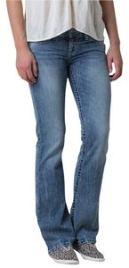 BKE Star 20 Extra Long Inseam Boot Cut Jeans-Distressed