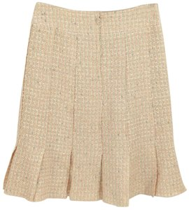 Chanel Skirt Ivory, Peach, Grey