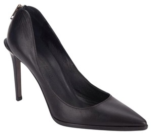 Helmut Lang Point Toe Black Pumps