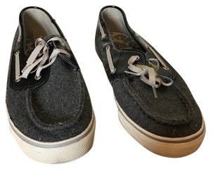 Sperry Black and grey Flats