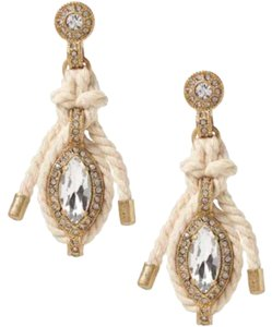 Banana Republic Rope Drop Earrings