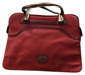 Guess Satchel in Red, Pink