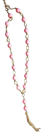 Preload https://img-static.tradesy.com/item/19699617/gold-and-pink-necklace-0-1-540-540.jpg