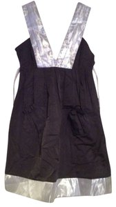 Debra Rodman short dress Black / Silver on Tradesy