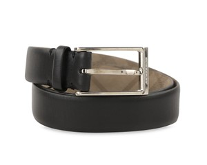 Burberry Rectangular Buckle Leather