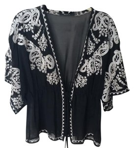 Ark & Co. Top Black/cream