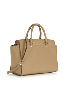Michael Kors Kors Satchel in Khaki