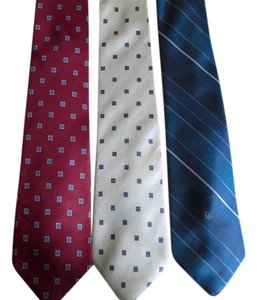 Dior Three Christain Dior Ties
