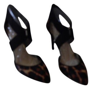 Jessica Simpson Stiletto Leopard Black Black/Leopard Pumps