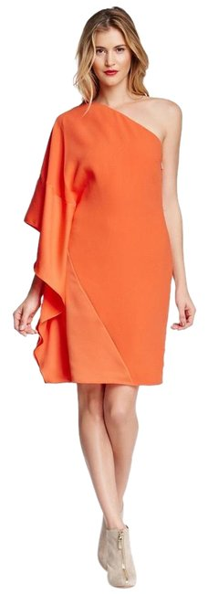 Preload https://img-static.tradesy.com/item/19700191/rachel-roy-orange-one-shoulder-dress-size0-above-knee-cocktail-dress-size-0-xs-0-1-650-650.jpg
