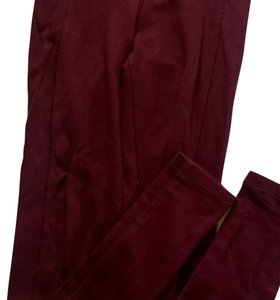 Topshop Maroon Leggings