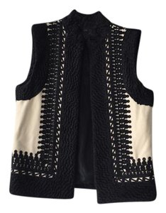 H&M Wool Gilet Embossed Vest