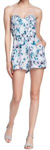 Parker Strapless Mini Shorts Dress