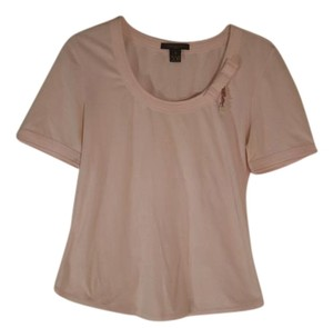 Louis Vuitton Women Sleeve T Shirt pink