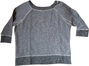 Madewell Fleece Raglan Classic Collegiate Heather Weekend Sweatshirt