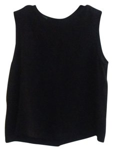 Country Road Top Floral Black