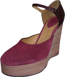 Chloé Burgundy Pumps