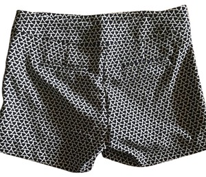 Banana Republic Dress Shorts Dark navy and white pattern