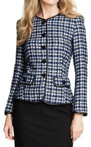 Lafayette 148 New York Tweed Multi Color Jacket
