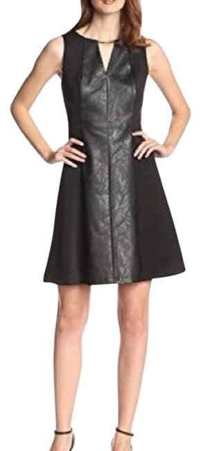 Preload https://img-static.tradesy.com/item/19700627/vince-camuto-black-women-s-fit-and-with-hardware-pleatleather-front-panel-cocktail-dress-size-2-xs-0-1-650-650.jpg