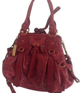Lockheart Satchel in Red