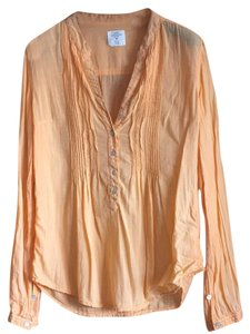 H&M Button Down Shirt Tangerine