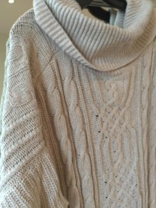 BCBGMAXAZRIA Bcbg Poncho Bcbg Tan Poncho Neutral Poncho Neutral Sweater