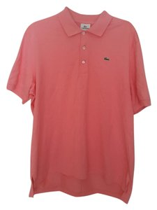 Lacoste Polo Soft Men T Shirt Coral