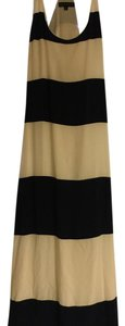 Navy & white Maxi Dress by Barneys Co-Op Maxi Nautical Striped