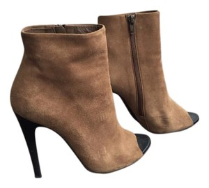 Bottega Veneta Open Toe Ankle Boot Boots