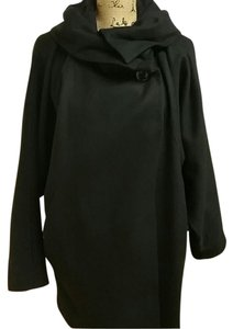 Betsey Johnson Dolman Sleeves Dolman Pea Coat