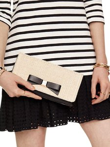 Kate Spade Black/Natural Clutch