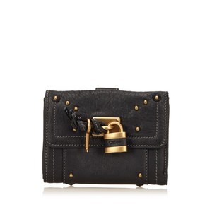 Chloé Black,leather,others,slg,6gclsw004