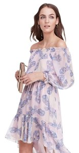 Diane von Furstenberg Dvf Furstenburg High Low Boho Dress