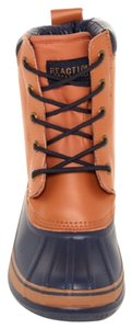 Kenneth Cole Reaction Tan & Navy Boots