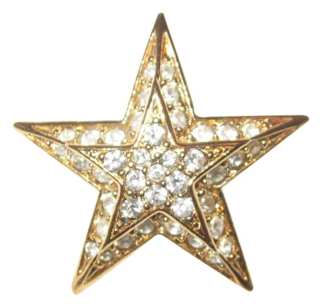 Item - Gold Box Estate Petite Star Pin From Her Personal Jewel
