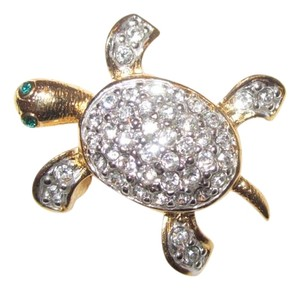 Joan Rivers Estate Turtle Pin From Joan's Personal Jewel Box!