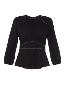 Isabel Marant Evening Top Black