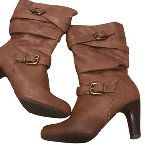 Style & Co Caramel Boots