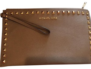 MICHAEL Michael Kors Taupe Clutch
