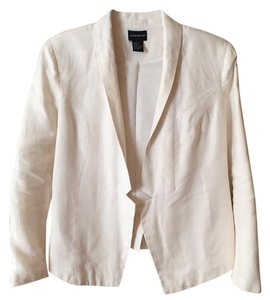 Central Park West White Blazer