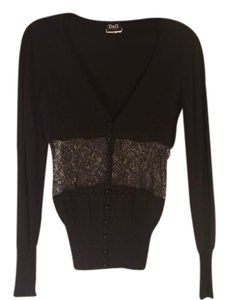 Dolce&Gabbana Cardigan Longsleeve Button Down Shirt black