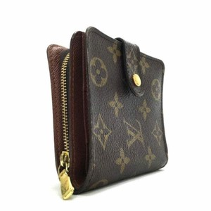Louis Vuitton France Monogram Canvas Classic Compact Zippy Bifold Wallet Coin Purse