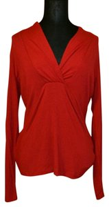 Banana Republic Professional Fall Sexy Top red
