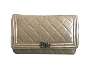 Chanel Boy Woc Medium Hermes Caviar Shoulder Bag