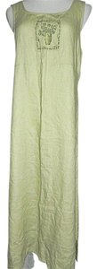Light Green Maxi Dress by Uniform John Paul Richard Petite Sleeveless Maxi Maxi Full Length