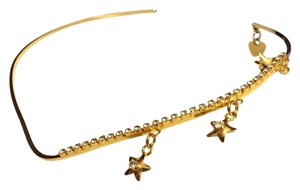 Lunch at the ritz Lunch At The Ritz 24k Gold Plated Choker Necklace