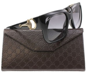 Gucci Gucci Sunglasses 3713/S 0D28 Black Shiny